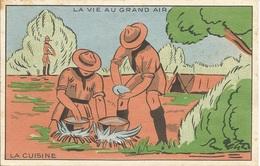 SCOUTISME  /    CAMP  DE  SCOUTS  /  Pub  Grands  Magasins  De  La  Samaritaine - Scouting
