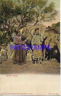 137811 ARGENTINA COSTUMES NATIVE INDIOS TOBAS POSTAL POSTCARD - Argentine