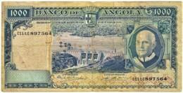 Angola - 1000 Escudos - 10.06.1970 - Pick 98 - Série C11 TC - Américo Tomás - PORTUGAL 1 000 - Angola
