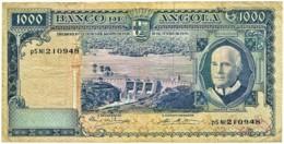 Angola - 1000 Escudos - 10.06.1970 - Pick 98 - Série P5 Nl - Américo Tomás - PORTUGAL 1 000 - Angola