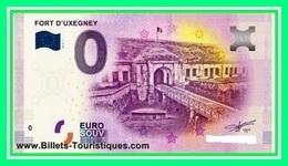88 / FORT D'UXEGNEY BILLET TOURISTIQUE SOUVENIR 2019 - Essais Privés / Non-officiels