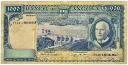 Angola - 1000 Escudos - 10.06.1970 - Pick 98 - Série R4 Ae - Américo Tomás - PORTUGAL 1 000 - Angola