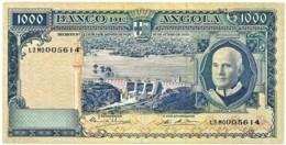 Angola - 1000 Escudos - 10.06.1970 - Pick 98 - Série T3 Mo - Américo Tomás - PORTUGAL 1 000 - Angola