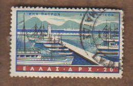 GRECE. Poste Aérienne  (Y&T) 1942-43 .n°71   * Vues De Ports *      20 D*  Obli - Greece