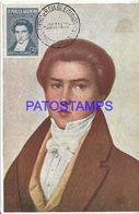 137818 ARGENTINA ART PATRIOTIC MARCO M. DE AVELLANEDA POSTAL POSTCARD - Argentine