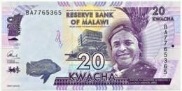 Malawi - 20 Kwacha - 2016 - Unc. - Pick 63.c - Serie BA - Malawi