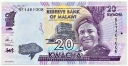 Malawi - 20 Kwacha - 2016 - Unc. - Pick 63.c - Serie BE - Malawi