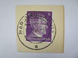 Deutsches Reich Poststempel 1941 , Marburg  O - Germany