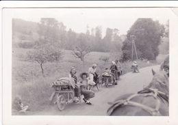 PHOTO ORIGINALE 39 / 45 WW2 WEHRMACHT FRANCE LA GUERRE EST PERDUE EXODE DES POPULATIONS - Guerre, Militaire