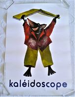 AFFICHE ANCIENNE ORIGINALE ILLUSTRATION  Et Si Le Loup Y Etait Maïté Laboudigue 2005 - Afiches