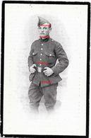 Oorlog Guerre Raoul Moonen Arendonk Soldaat 16 Linie Gesneuveld Te BEVEREN AAN DE IJZER SEPTEMBER 1918 Turnhout - Images Religieuses