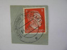 Deutsches Reich Poststempel 1943 , Heilbronn / Neckar  O - Germany