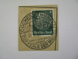 Deutsches Reich Poststempel 1933 , Heilbronn / Cochem  O - Germany