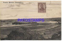 137828 ARGENTINA CHUBUT PUERTO MADRYN VISTA PARCIAL POSTAL POSTCARD - Argentine
