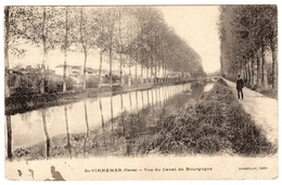 SAINT VINNEMER (89) - Vue Du Canal De Bourgogne - Ed. Chabrillac, Paris - Francia