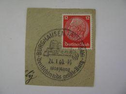 Deutsches Reich Poststempel 1940 , Burghausen   O - Germany