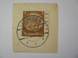 Deutsches Reich Poststempel 1938 , Sulingen   O - Germany