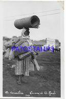 137833 ARGENTINA SANTIAGO DEL ESTERO TERMAS DE RIO HONDO COSTUMES LA CANASTERA PHOTO NO POSTAL POSTCARD - Argentine