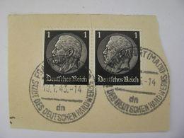 Deutsches Reich Poststempel 1943 , Frankfurt/Main   O - Germany