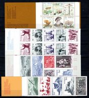Zweden: 1978 - Verschillende Boekjes Postfris / Various Booklets MNH - Carnets