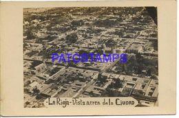 137835 ARGENTINA LA RIOJA VISTA AEREA DE LA CIUDAD PHOTO NO POSTAL POSTCARD - Argentine