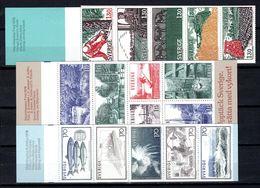 Zweden: 1979-1980 - Verschillende Boekjes Postfris / Various Booklets MNH - Carnets