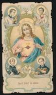 SACRE COEUR DE JESUS   2 SCANS - Images Religieuses