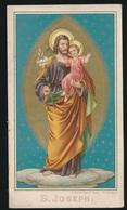 IMAGE PIEUSE  S.JOSEPH    2 SCANS - Images Religieuses