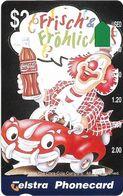 Australia - Telstra (Anritsu) - 1996 Coca Cola Complimentary - M449 - Frisch & Frolich 9/20 - 09.1996, 2$, 2.000ex, Mint - Australia
