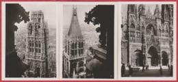 Rouen. Normandie. Pochette De 20 Photos (9 * 6,5 Cm). 10 Vues. Cathédrale, Vieille Maison ... Edition Yvon. - Places