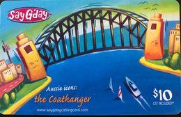 AUSTRALIE  -  Prepaid  -  SayG'day - Australia