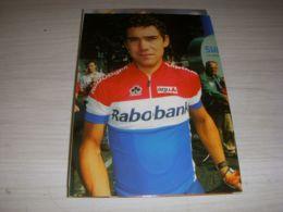 CYCLISME CARTE POSTALE PHOTO COUPS De PEDALES Léon VAN BON CHAMPION HOLLANDE 00 - Radsport