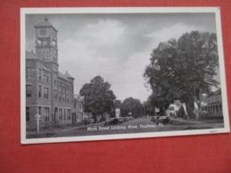 Main Street  Poultney  - Vermont > Ref 4219 - Etats-Unis