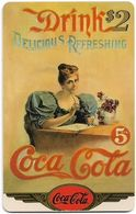 USA - Sprint - Coke National '96 (GOLD VALUE) - SBI-1137 - Advert. #1, Remote Mem. 2$, 2.715ex, Used - Vereinigte Staaten