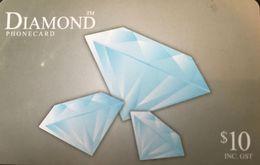 AUSTRALIE  -  Prepaid  - DIAMOND  -  $ 10 - Australia