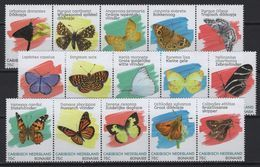 Dutch Caribbean (2020) - Set - /  Butterflies - Butterfly - Papillon - Insects - Vlinders - Schmetterlinge