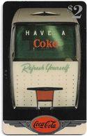 USA - Sprint - Coke National '96 (SILVER VALUE) - SBI-1114 - Advert. #3, Remote Mem. 2$, 4.050ex, Used - Vereinigte Staaten