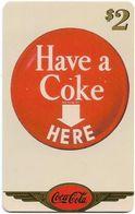 USA - Sprint - Coke National '96 (GOLD VALUE) - SBI-1140 - Advert. #4, Remote Mem. 2$, 2.715ex, Used - Vereinigte Staaten