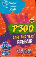 AUSTRALIE  -  Prepaid  - Globe LOAD  -  Call And Text Prepaid - Australia