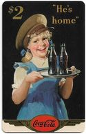 USA - Sprint - Coke National '96 (GOLD VALUE) - SBI-1141 - Advert. #5, Remote Mem. 2$, 2.715ex, Used - Vereinigte Staaten