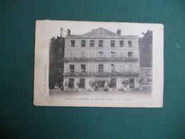CPA FONTAINEBLEAU HOTEL DE LONDRES ANNEXE DE L HOTEL FRANCE ET ANGLETERRE CIRCULE 19+?? BON ETAT - Fontainebleau