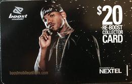 AUSTRALIE  -  Prepaid  - BOOST  - NEXTEL  -  $ 20 - Australia