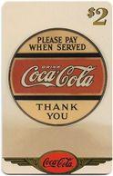 USA - Sprint - Coke National '96 (GOLD VALUE) - SBI-1143 - Advert. #7, Remote Mem. 2$, 2.715ex, Used - Vereinigte Staaten