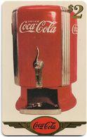 USA - Sprint - Coke National '96 (GOLD VALUE) - SBI-1144 - Advert. #8, Remote Mem. 2$, 2.715ex, Used - Vereinigte Staaten