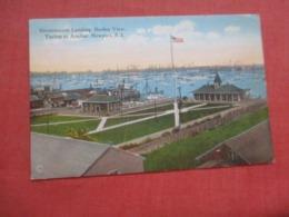 Government Landing  Yachts At Anchor  Rhode Island > Newport   Ref 4219 - Newport