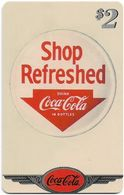 USA - Sprint - Coke National '96 (SILVER VALUE) - SBI-1121 - Advert. #10, Remote Mem. 2$, 4.050ex, Used - Vereinigte Staaten