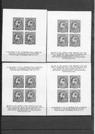 4  BLOCS  F.I.P.   -      2  FR  +  2 N  SANS GOMME  -  ZONDER GOM - 1929-1941 Grand Montenez