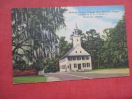 Midway Church - Georgia > Savannah  Ref 4219 - Savannah