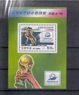 Korea Nord Michel Cat.No. Mnh/** Sheet 389 Soccer - Corée Du Nord