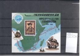 Korea Nord Michel Cat.No. Mnh/** Sheet 393 - Corée Du Nord